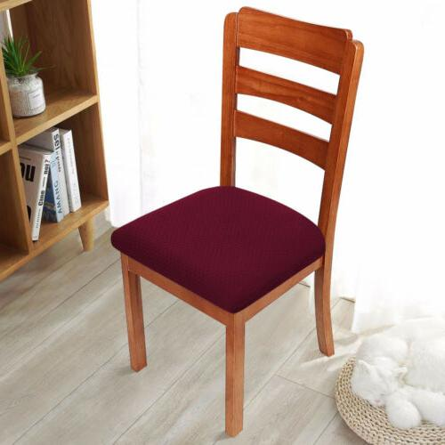 2/4/6pc Chair Room Stretch Slipcover Seat