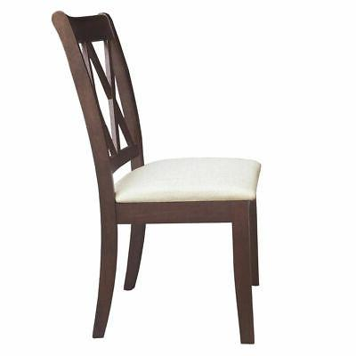 2-Set Home Dining Room Chairs Kitchen Restaurant