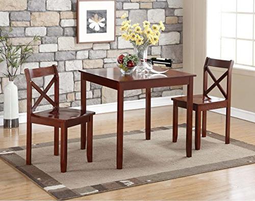 Boraam 21100 Jamie 3 Piece Dining Set,