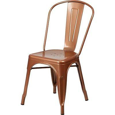Flash Furniture Metal Stackable Chair NEW