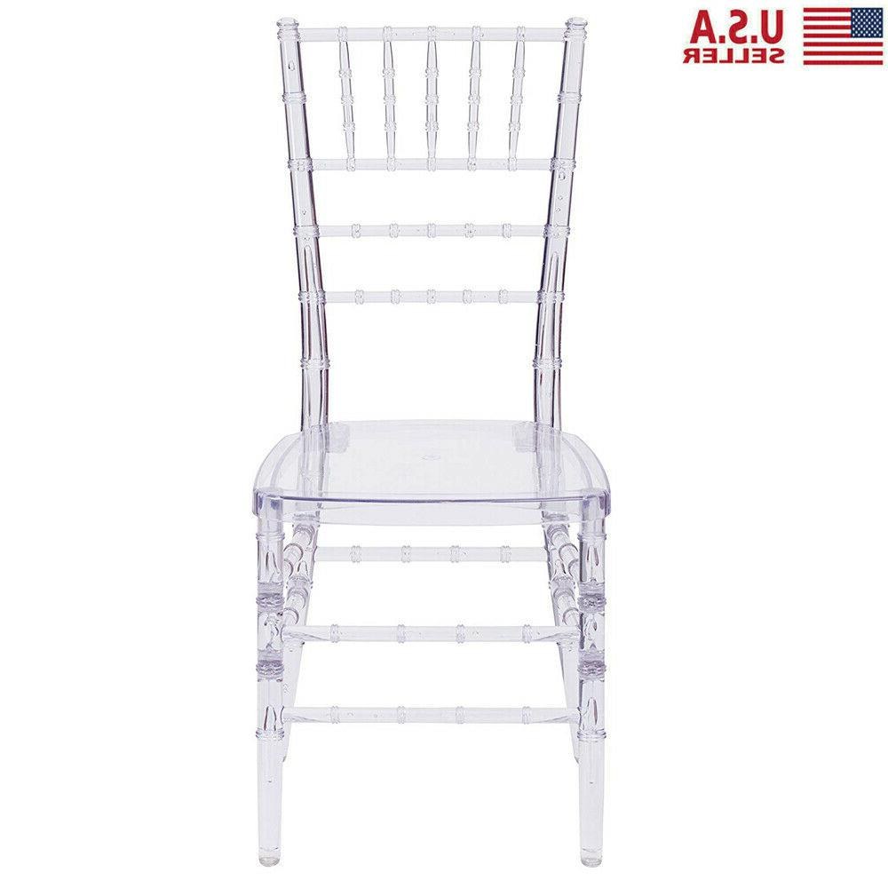 4 Pcs Stacking Chair Side Dining