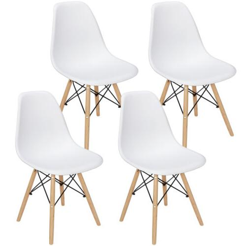 Set of 4 Style Chair Dining Chairs For Kitchen Bedroom Livin