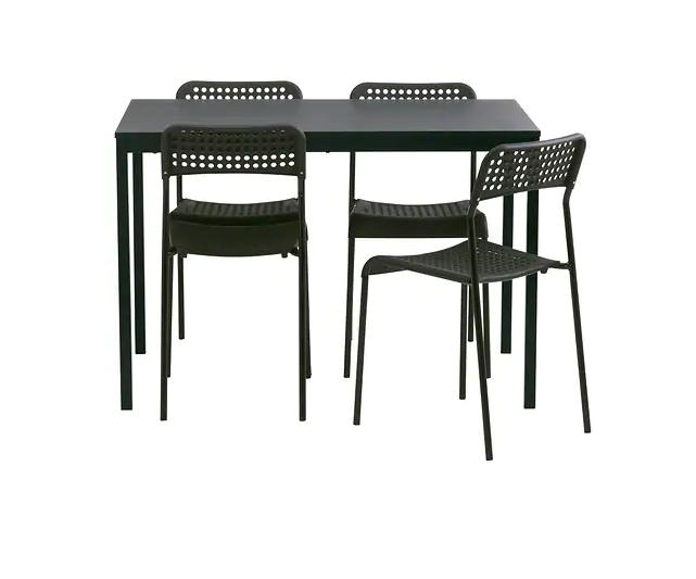5 pcs Table and 4 Kitchen and for 4