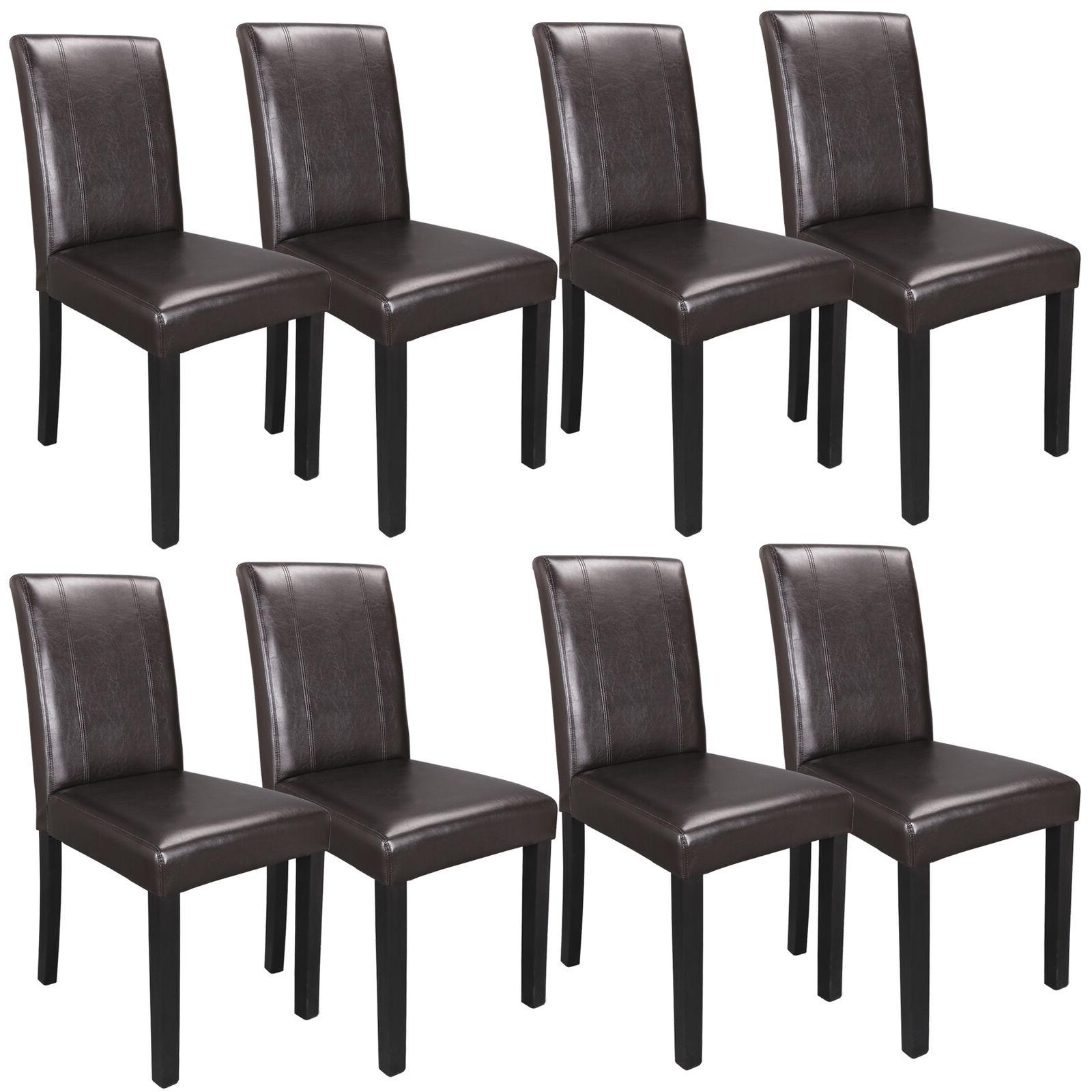8 set dining parson room chairs kitchen