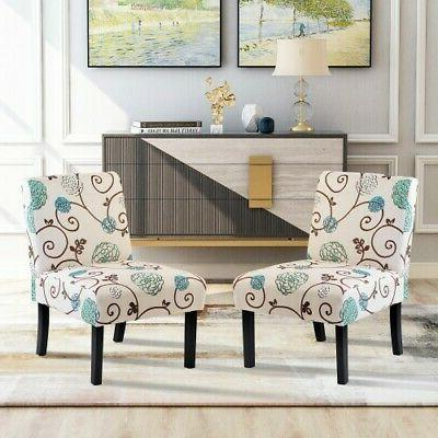 accent chair armless chair dining chair set