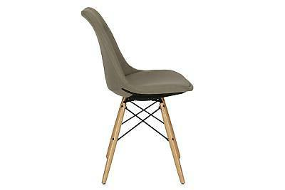 DHP Mid Modern Button-Tufted Chair, Multiple Colors