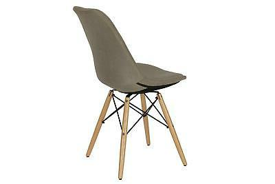 DHP Albany Chair, Mid Century Modern Button-Tufted Chair, Multiple Colors