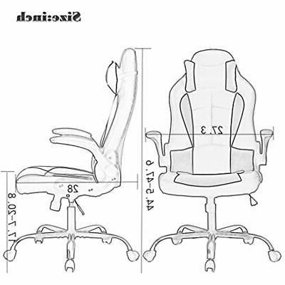 Back Racing Seat Office Desk Chair Gaming