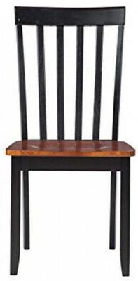 Bloomington Black Cherry Wood Dining Side Chair Transitional