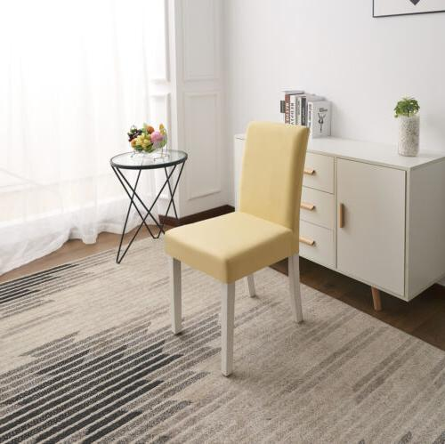 Solid Color Spandex Stretch Chair Seat