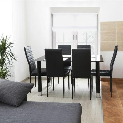 Dining Chairs Faux Modern 2pcs