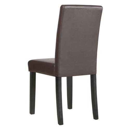 Dining Chairs 1/2/4/6/8/10/12 pieces Leather Black / White