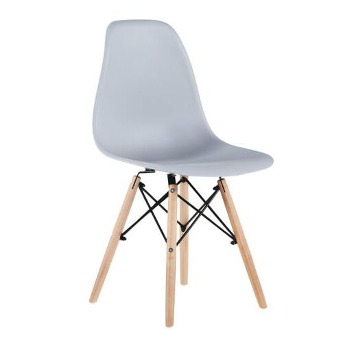 Dining Chair Wooden Legs Modern 4 YOUCHOOSE