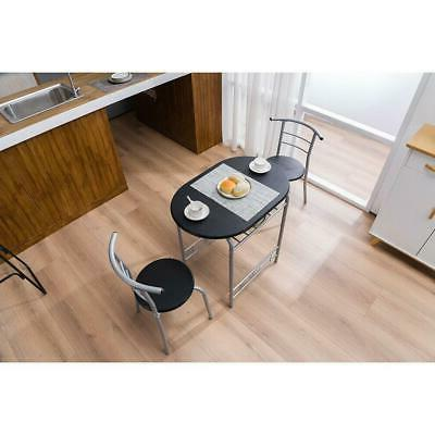 Durable Home Kitchen Color Table and 2 Bistro Pub