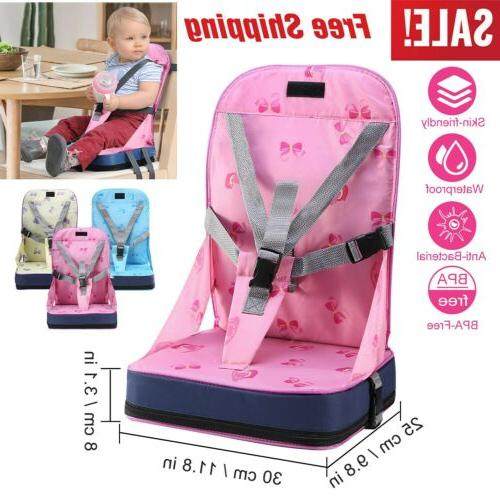 Kids Baby High Dining Feeding Chair Booster Seat Travel