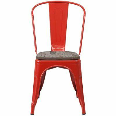 Flash Furniture Side Red and