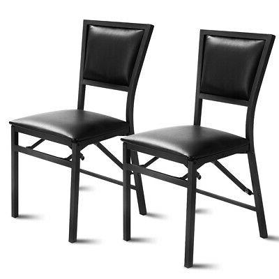 metal folding chair dining chairs