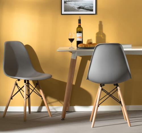 Mid-Century Modern Style Plastic DSW Dining with