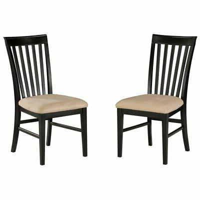 montreal dining chair in espresso set of
