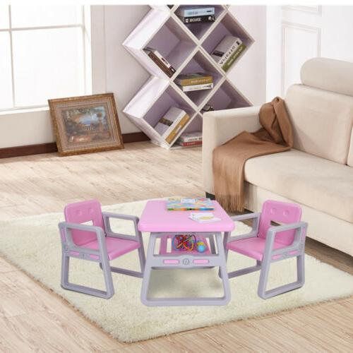 3 PCS Table Kitchen Furniture For Baby US