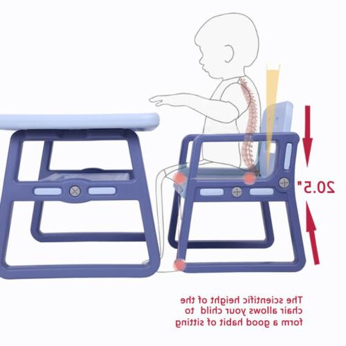 3 PCS Table and Kitchen Furniture Baby Kids US