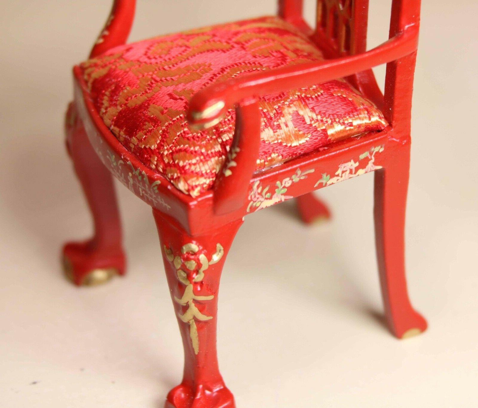 """Red Asian MUSEUM DOLLHOUSE 1/12 or 1"""""""