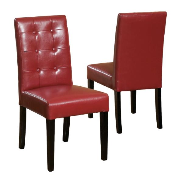 Red Bonded Chairs Knight 2
