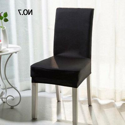 Removable Dining Chair Cover Stretch Seat