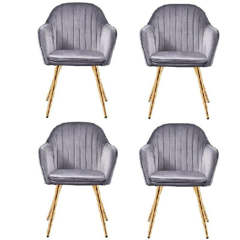 Set of Dining Office Upholstered Accent
