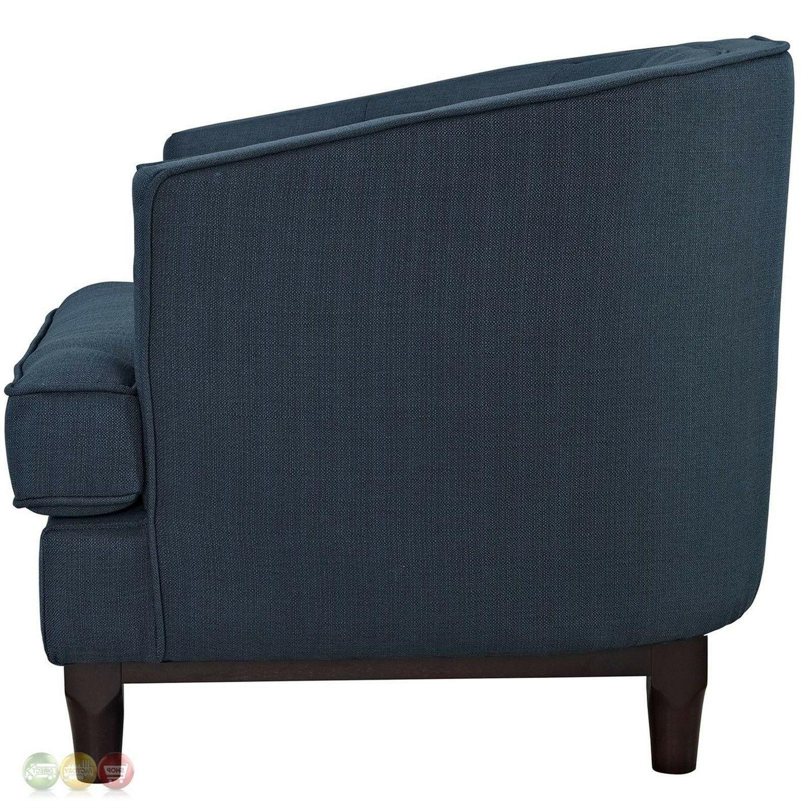 Modern Upholstered Armchairs Wooden