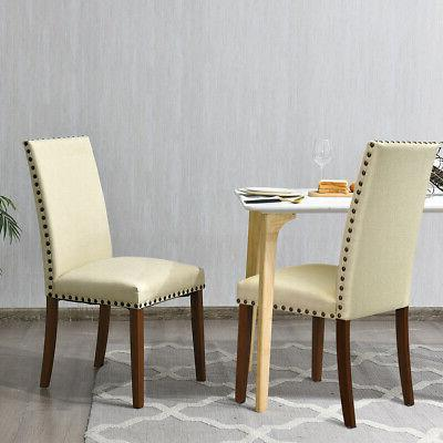 2-Set Accent Chairs Fabric