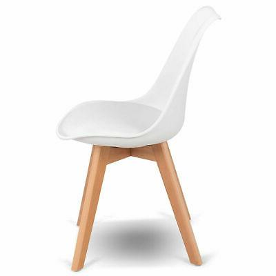 Set Century Dining Chairs DSW Armless Side Chair Wood