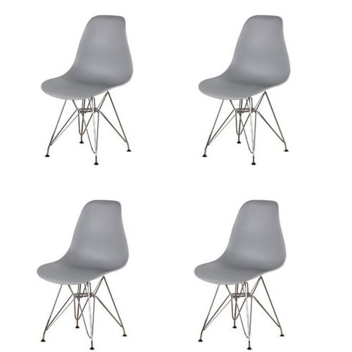 set of 4 modern style dining chair