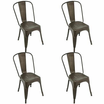 Set Style Chair Stackable Bistro Stool