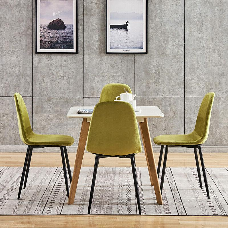 Dining Chair Backrest Metal Kitchen Dining Room