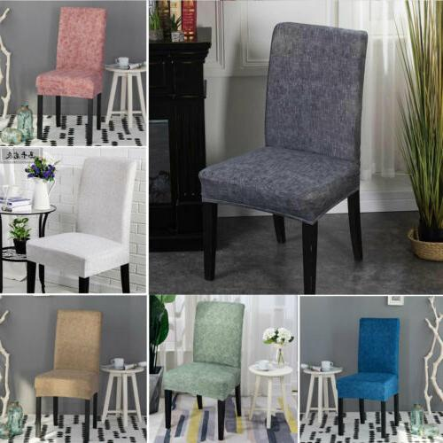 US Stretch Dining Chair Covers Chair Protector Slipcover Wed