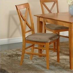 Atlantic Furniture Lexington Side Chair in Caramel Latte