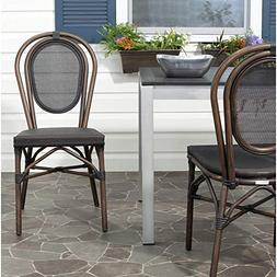 Safavieh Outdoor Living Collection Ebsen Wicker Side Chairs,
