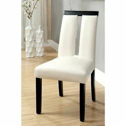 Furniture of America Luminate 2-Piece Dining Side Chairs - E