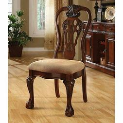 Furniture of America Marcelo Formal Dining Chair - Set of 2,