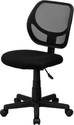 Mid-Back Mesh Task Chair, No Arms