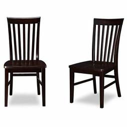 Atlantic Furniture Mission Dining Chairs in Espresso