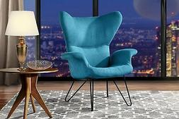 Modern Accent Chair for Living Room, Arm Chair with Mid-Cent