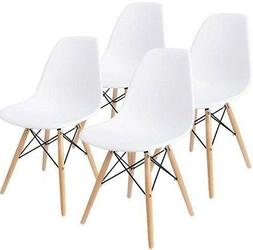 Modern Dining Chairs For Home Style Trendy Armless White Off