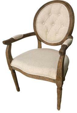 Modern Farmhouse Vintage Antique Solid Wood Dining Chairs Wi
