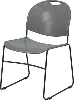 Multipurpose Ultra Compact Plastic Accent Stack Chair