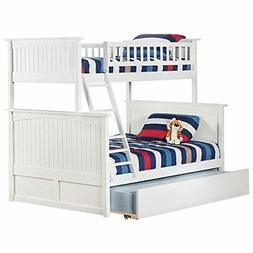 Atlantic Furniture Nantucket Urban Twin Over Full Trundle Bu