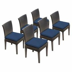 TK Classics Napa Outdoor Dining Side Chair - Set of 6 with 1