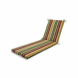 Pillow Perfect Outdoor/Indoor Dina Noir Chaise Lounge Multi