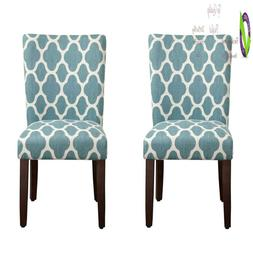 Homepop Parsons Classic Upholste Accent Dining Chair, Set Of